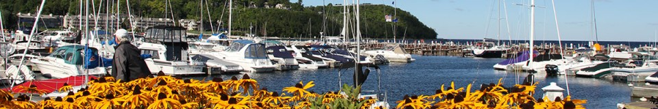 Sister Bay Marina Flowers